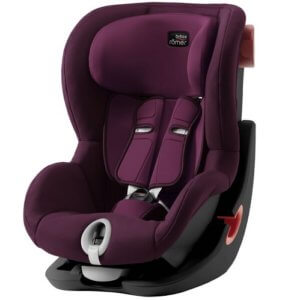 BRITAX RÖMER autosedačka King II Black Burgundy Red