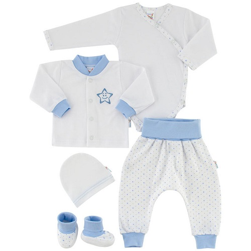 f6d90b5073e7 Esito novorodenecká súprava modrá hviezda