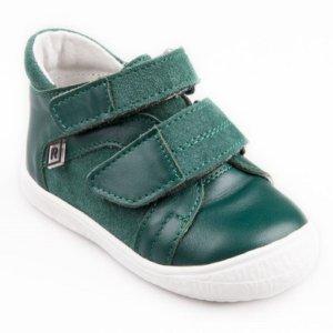 57ad353b76a Rak detská kožená vychádzková obuv Balik tm.zelené veľ. 21