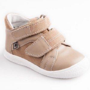 5fb7a328f44 Rak detská kožená vychádzková obuv Max béžové veľ. 20