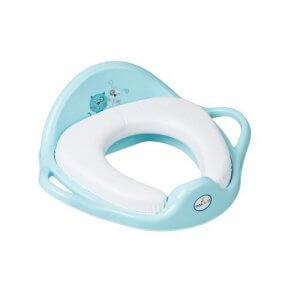 tega baby redukcia na wc mäkká modrá mačka