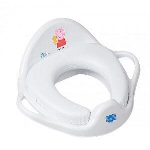 Tega Baby redukcia na WC mäkká Peppa Pig biela-ružová