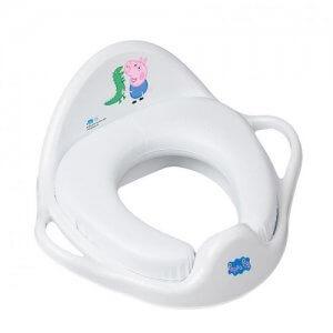 Tega Baby redukcia na WC mäkká Peppa Pig biela-modrá
