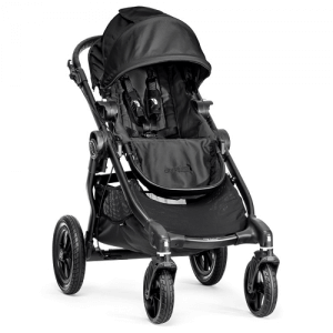baby jogger city select black-black