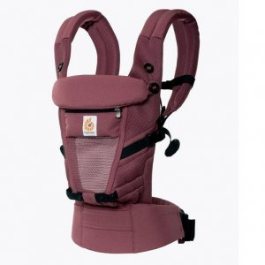ergo baby adapt cool mesh plum