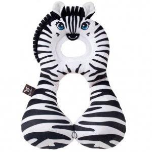 Cestovný nákrčník Benbat s opierkou Zebra