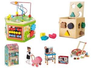drevené hračky babyraptor